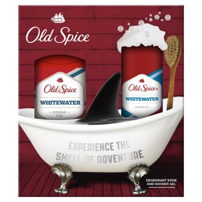 Kép Old Spice WhiteWater ajándékcsomag: deo stift + tusfürdő