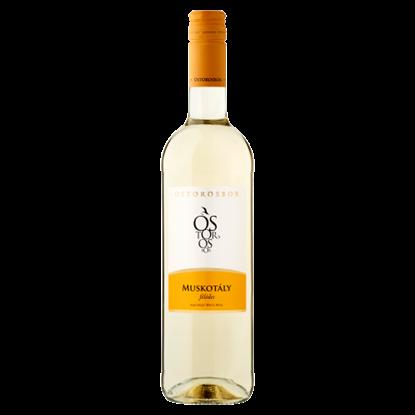 Kép Ostorosbor Felső-Magyarországi muskotály félédes fehérbor 11% 750 ml