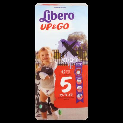 Kép Libero Up&Go 5 10-14 kg prémium bugyipelenka 42 db