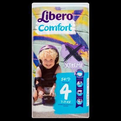 Kép Libero Comfort 4 7-11 kg prémium pelenkanadrág 54 db