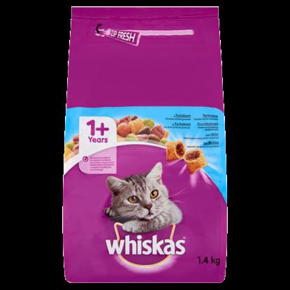 Kép Whiskas teljes értékű állateledel felnőtt macskák számára tonhallal 1,4 kg