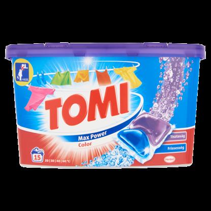 Kép Tomi Color Caps mosókapszula színes ruhákhoz 15 mosás