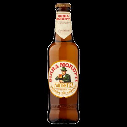 Kép Birra Moretti világos sör 4,6% 0,33 l