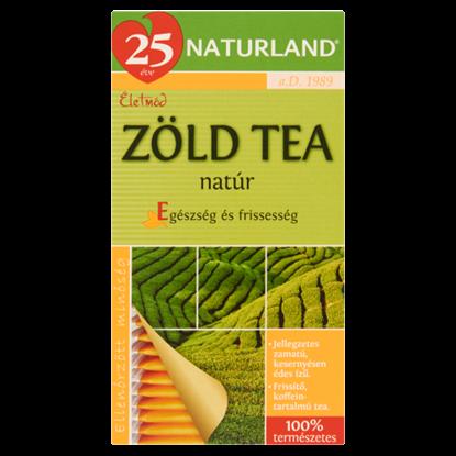 Kép Naturland Életmód natúr zöld tea 20 filter 30 g