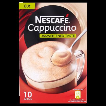 Kép Nescafé Cappuccino azonnal oldódó kávéspecialitás sovány tejporral 10 x 12 g