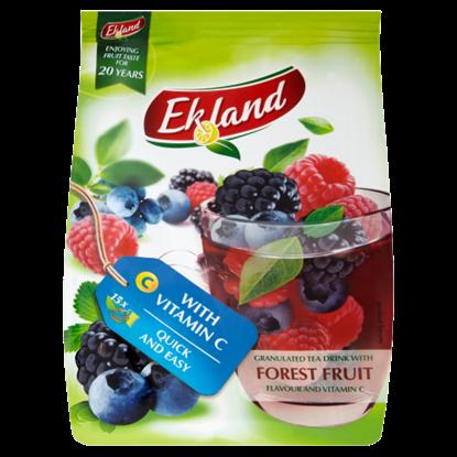 Kép Ekland azonnal oldódó erdeigyümölcs-ízű tea italpor C-vitaminnal 300 g