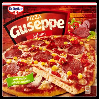 Kép Dr. Oetker Guseppe gyorsfagyasztott szalámis pizza 380 g