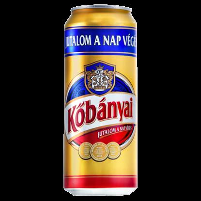Kép Kőbányai világos sör 4,3% 0,5 l
