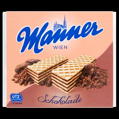 Kép Manner csokoládékrémmel töltött ostyaszeletek 75 g