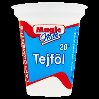 Kép Magic Milk laktózmentes, homogénezett, élőflórás tejföl 20% 150 g