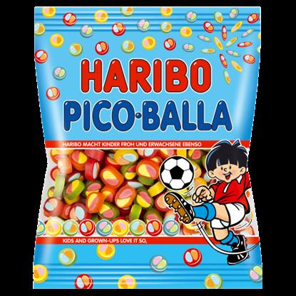 Kép Haribo Pico Balla gyümölcsízű gumicukorka 85 g