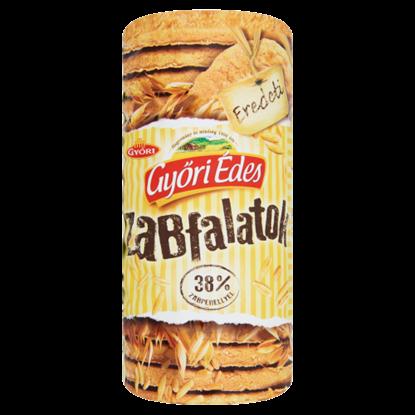 Kép Győri Édes Zabfalatok eredeti zabpelyhes, omlós keksz 215 g