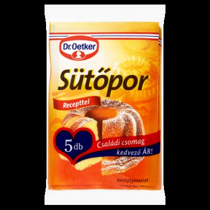 Kép Dr. Oetker Sütőpor családi csomag 5 x 12 g