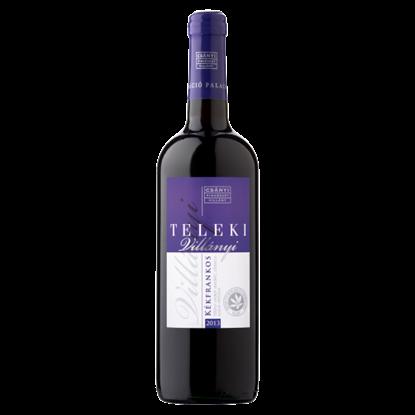 Kép Csányi Pincészet Teleki Villányi Kékfrankos száraz vörösbor 13% 75 cl
