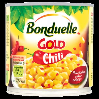 Kép Bonduelle Gold Chili morzsolt csemegekukorica paprikával és chilivel 310 g