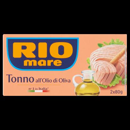 Kép Rio Mare tonhaldarab olívaolajban 2 x 80 g