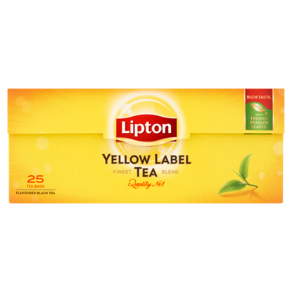 Kép Lipton Yellow Label fekete tea 25 filter