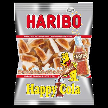 Kép Haribo Happy Cola kólaízű habosított gumicukorka 85 g