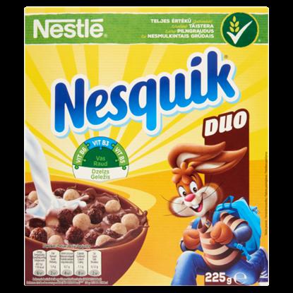 Kép Nestlé Nesquik Duo kakaós és vaníliaízű gabonapehely 225 g