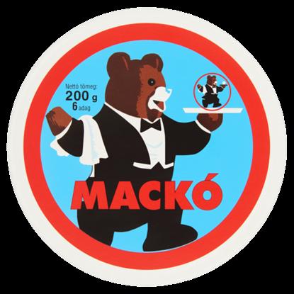 Kép Mackó kenhető, félzsíros ömlesztett sajt 6 db 200 g