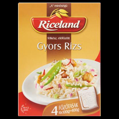 Kép Riceland Gyors rizs félkész előfőzött 4 x 100 g