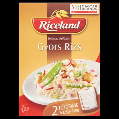 Kép Riceland gyors rizs - félkész előfőzött 2 x 125 g
