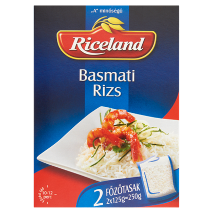 Kép Riceland Basmati rizs 2 x 125 g
