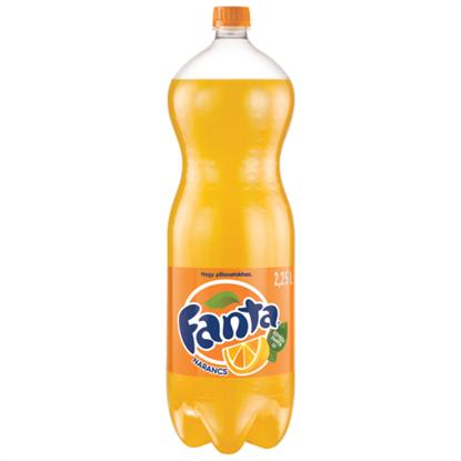 Kép Fanta narancs szénsavas üdítőital 2,25 l