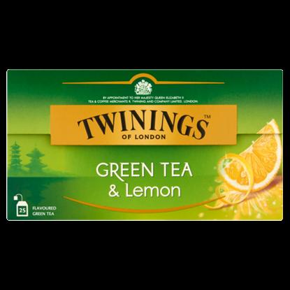 Kép Twinings of London citrom ízesítésű zöld tea 25 filter 40 g