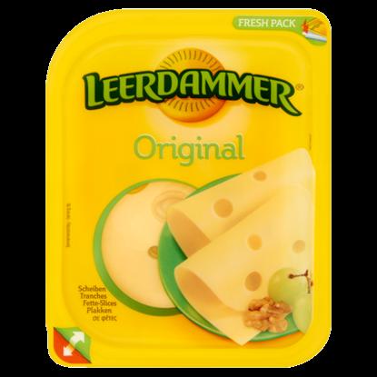 Kép Leerdammer Original zsíros félkemény, szeltelt sajt 100 g