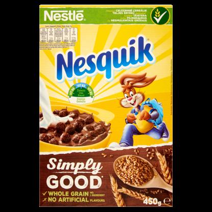 Kép Nestlé Nesquik kakaós ízű, ropogós gabonapehely 450 g