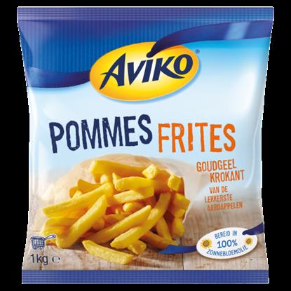 Kép Aviko elősütött, gyorsfagyasztott hasábburgonya 1 kg