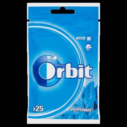 Kép Orbit Peppermint mentaízű cukormentes rágógumi édesítőszerrel 25 db 35 g