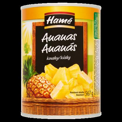 Kép Hamé darabolt ananászbefőtt 567 g