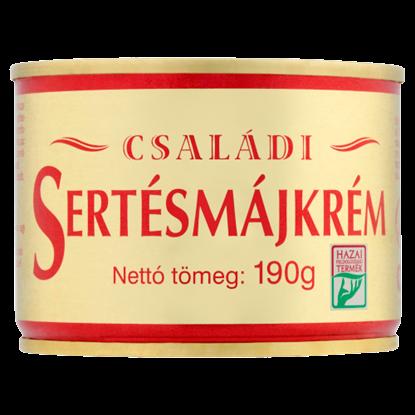 Kép Családi sertésmájkrém, tépőzáras 190 g