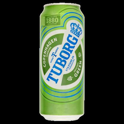 Kép Tuborg világos sör 4,6% 0,5 l