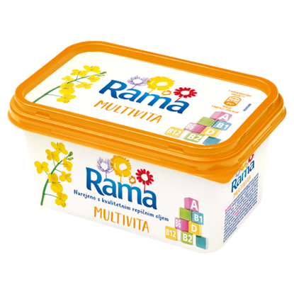 Kép Rama Multivita light margarin vitaminokkal 500 g
