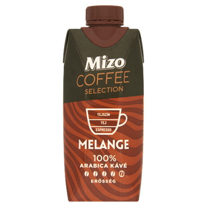 Kép Mizo Coffee Selection Melange UHT félzsíros kávés tej 330 ml
