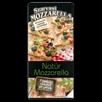 Kép Szarvasi szeletelt natúr pizza mozzarella sajt 100 g