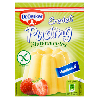 Kép Dr. Oetker Eredeti gluténmentes vaníliaízű pudingpor 40 g
