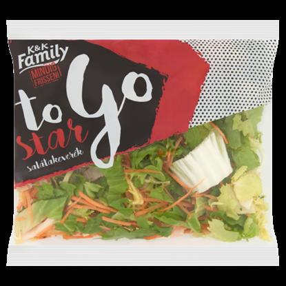 Kép K&K Family To Go Star friss salátakeverék 100 g