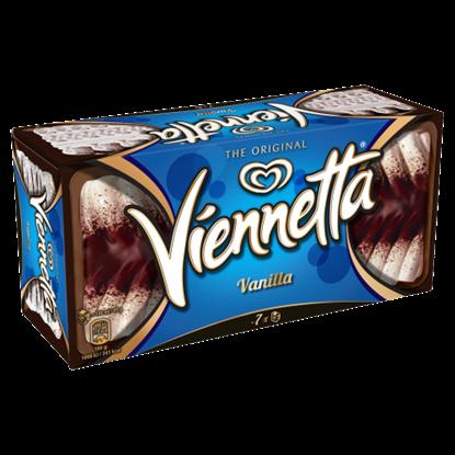 Kép Viennetta vanília jégkrém kakaós bevonó rétegekkel 650 ml