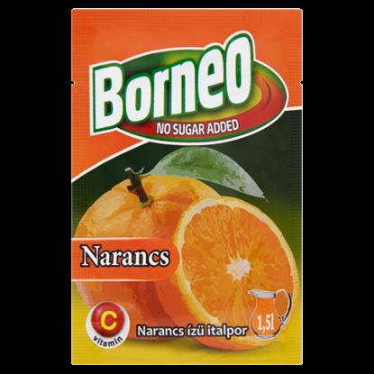Kép Borneo narancs ízű italpor hozzáadott cukor nélkül, édesítőszerrel 9 g