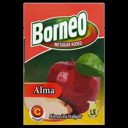 Kép Borneo alma ízű italpor hozzáadott cukor nélkül, édesítőszerrel 9 g