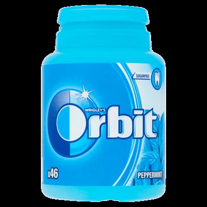 Kép Orbit Peppermint mentaízű cukormentes rágógumi édesítőszerrel 46 db 64 g