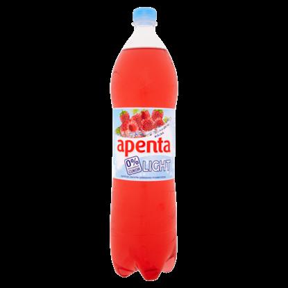 Kép Apenta Light málna enyhén szénsavas üdítőital édesítőszerekkel 1,5 l