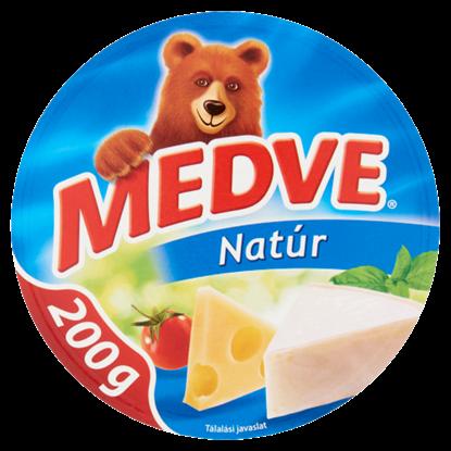 Kép Medve natúr, kenhető, zsíros, ömlesztett sajt 8 db 200 g