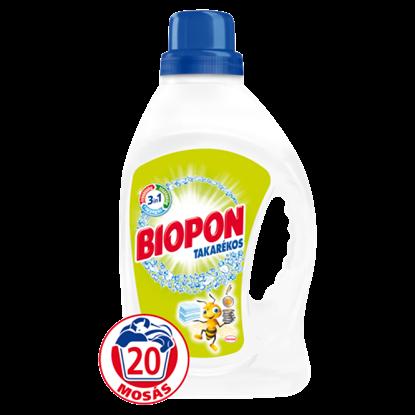 Kép Biopon Takarékos folyékony gél mosószer fehér ruhákhoz 20 mosás 1,32 l