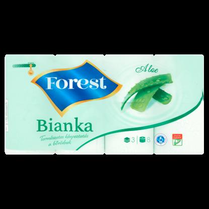 Kép Forest Bianka Aloe toalettpapír 3 rétegű 8 tekercs