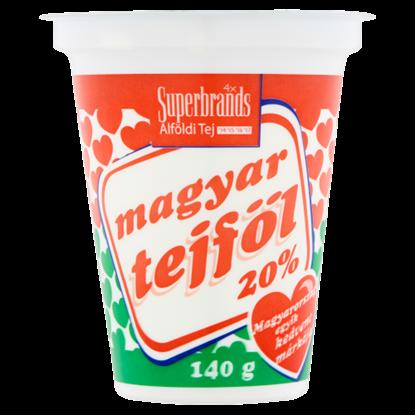 Kép Magyar Tejföl 20%-os tejföl 140 g